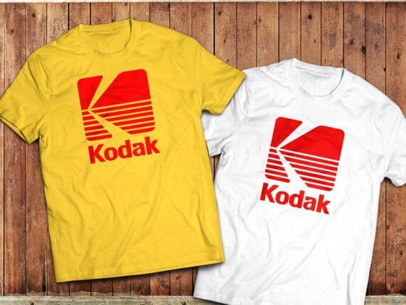 футболки Kodak