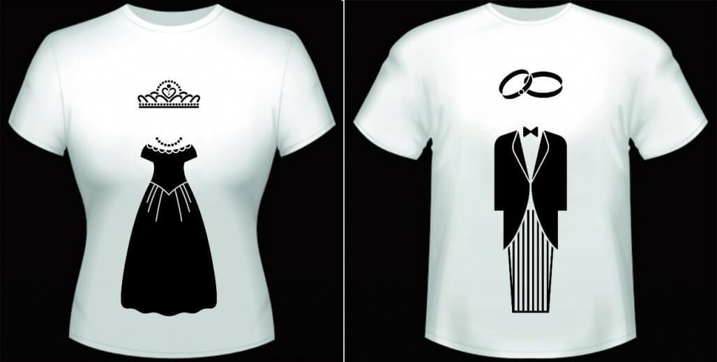 свадебные футболки