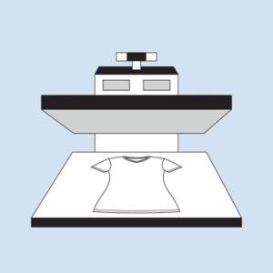 прямая цифровая печать на футболках