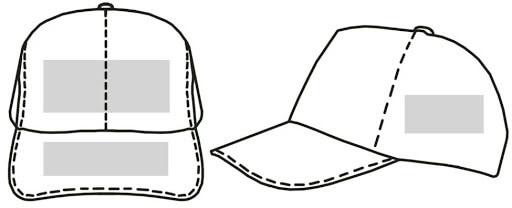 термоперенос плівки на кепку тракер п'ятиклинку