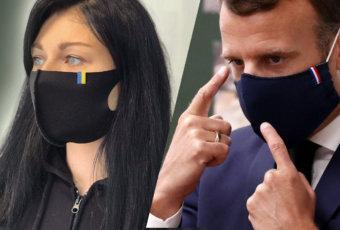 маски с принтом