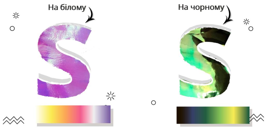 спецефект термоперенос голограма