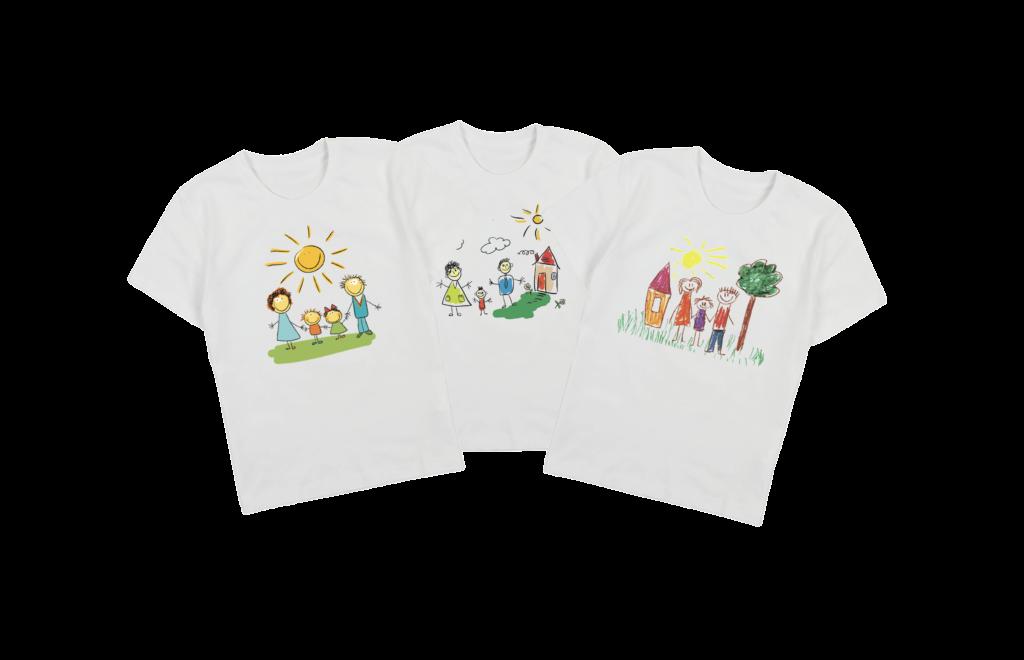 футболка дитяча з принтом