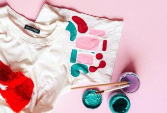 как сделать принт на футболке в домашних условиях
