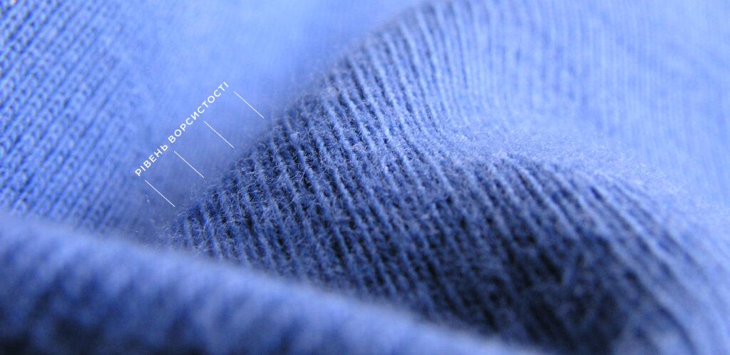 ворсистость ткани
